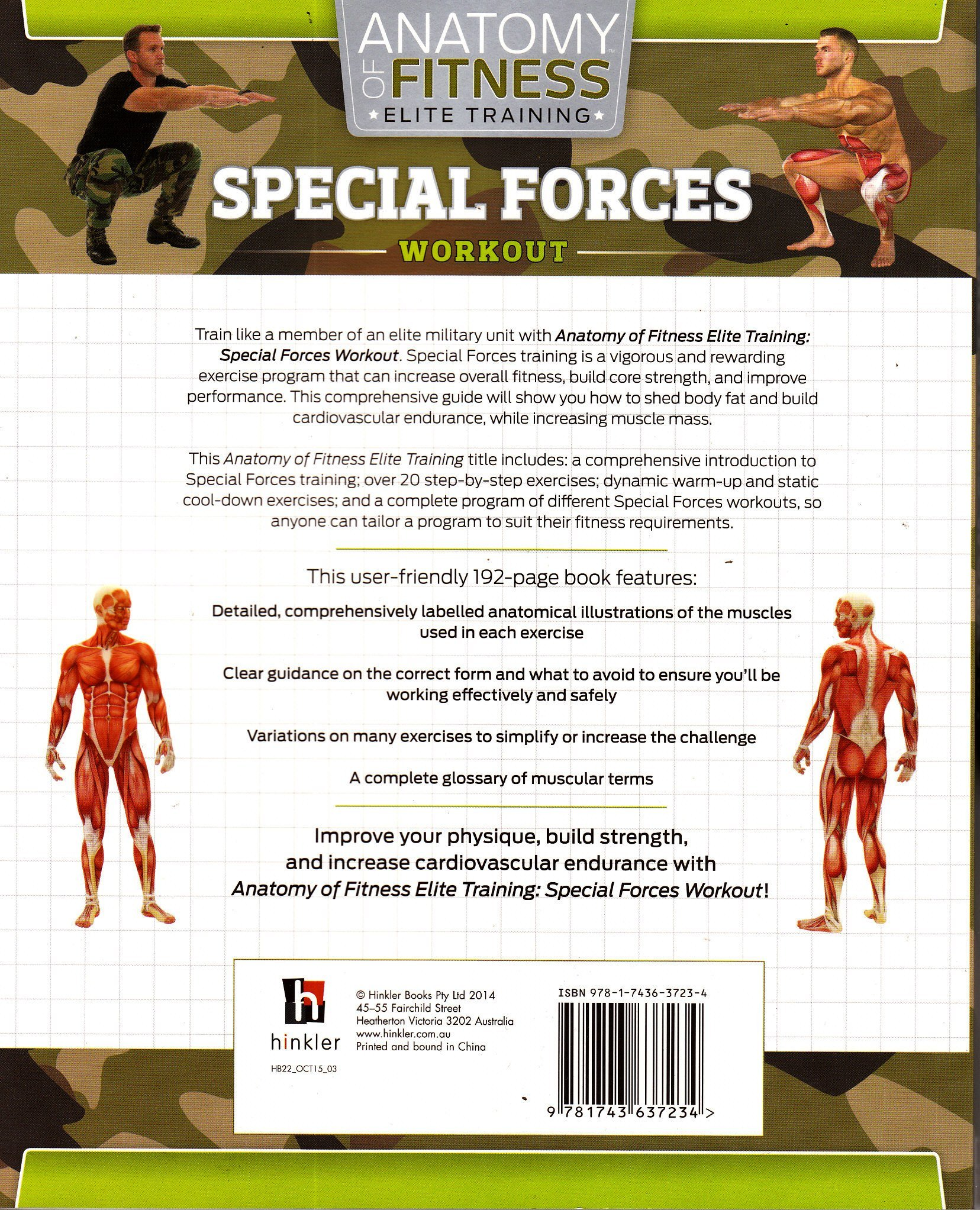 Anatomy Of Fitness Special Forces 2 Mega Magazines